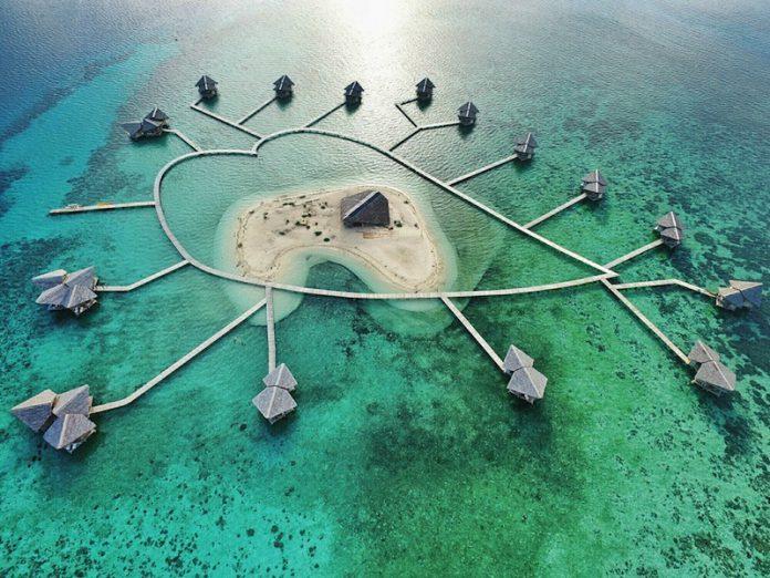 Pulo Cinta, salah satu pulau berbentuk hati terindah di dunia