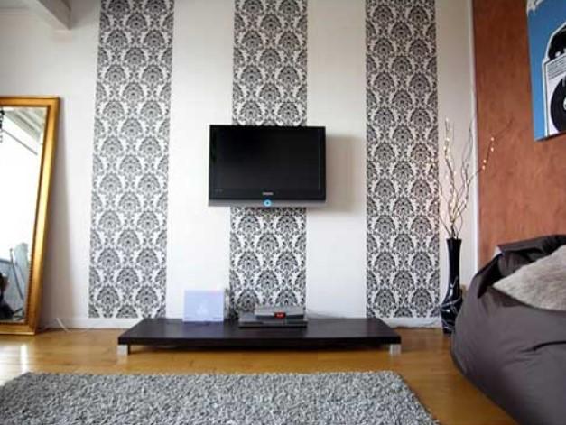 Desain Wallpaper Dinding Untuk Ruang Tamu Blog Rumahdewi Com
