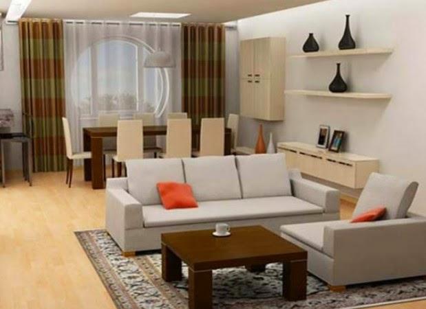 Desain Interior Ruang Tamu Pada Rumah Minimalis Tipe 36