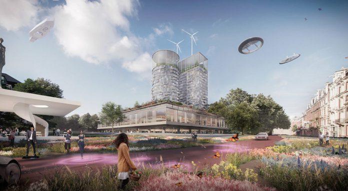 Begini Penampakan Pusat Kota Amsterdam yang Baru