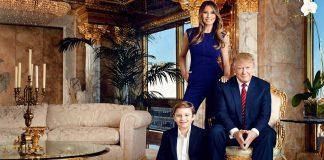 Intip Hunian Berlapis Emas Milik Donald Trump