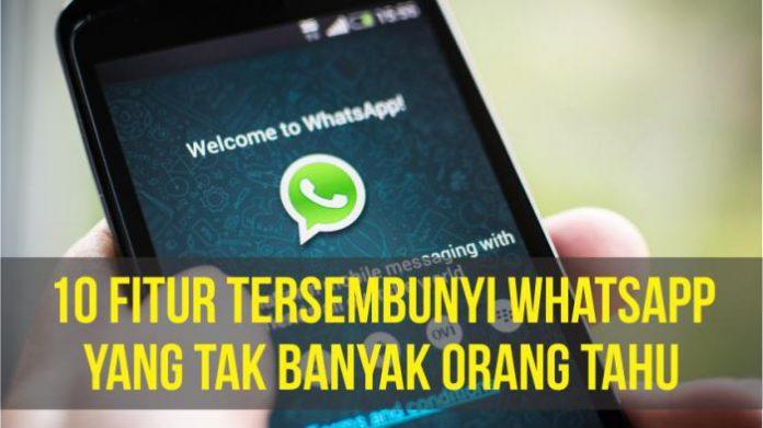 10 Trik Asyik WhatsApp, Kamu Harus Tahu