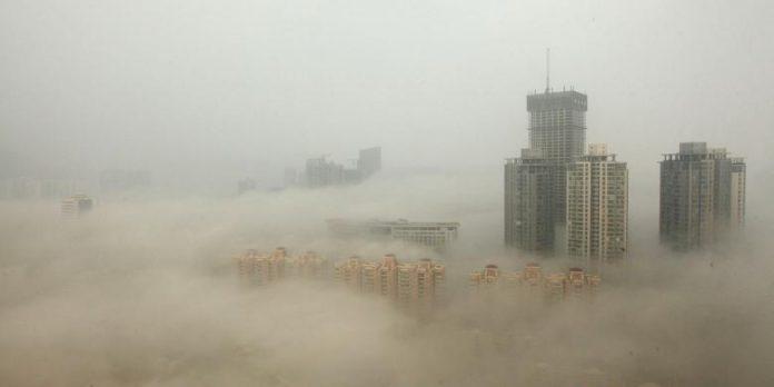 Udara China Paling Kotor di Dunia