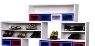 Kumpulan Desain Rak Sepatu Terbaru Yang Cantik