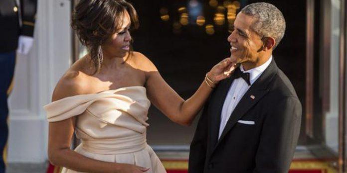 Pernikahan Bahagia oleh Michelle dan Barack Obama