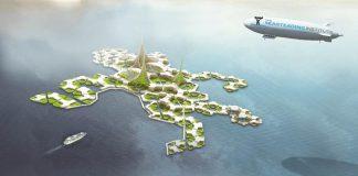 Kota Apung Bukan Lagi Fiksi Ilmiah Karena Perubahan Iklim