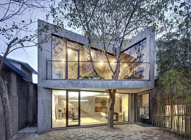 10 Arsitektur yang Cocok Dipadukan dengan Pohon