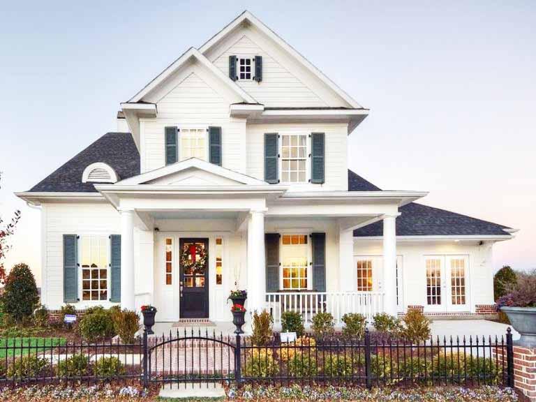 desain-rumah-gaya-amerika-klasik-cantik