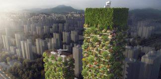 Di China Akan Ada Hutan Vertikal Pertama di Nanjing