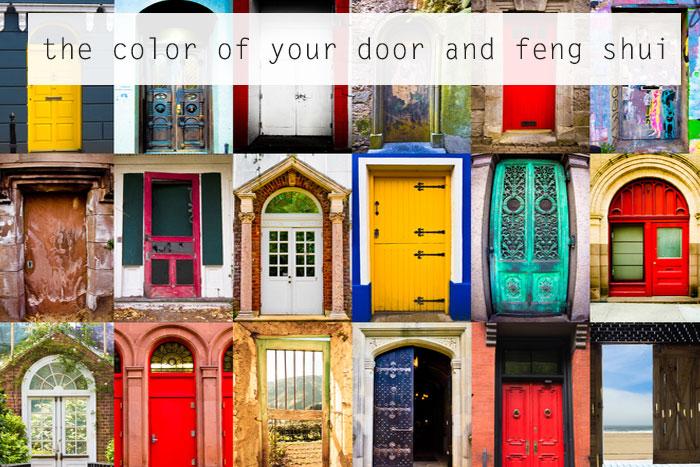 Tips feng shui untuk warna pintu utama rumah portal berita properti terkini for Feng shui exterior house colors