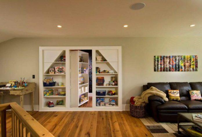 Ide Desain Ruangan Rahasia Dengan Pintu Tersembunyi
