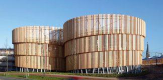 Gedung Parkir Dengan Desain Menarik di Belanda