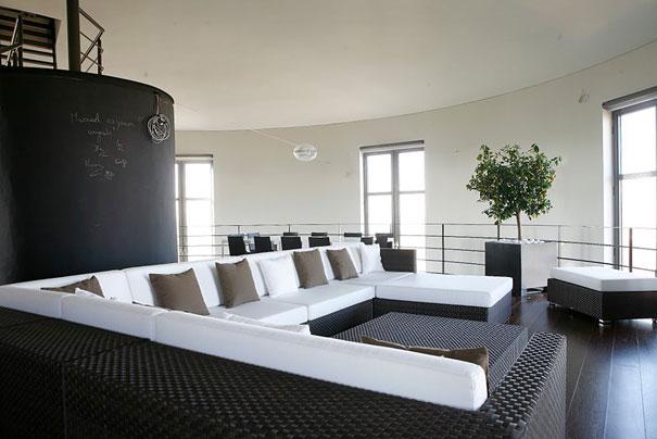 Menara Air Tua Disulap Menjadi Rumah Modern, Belgia