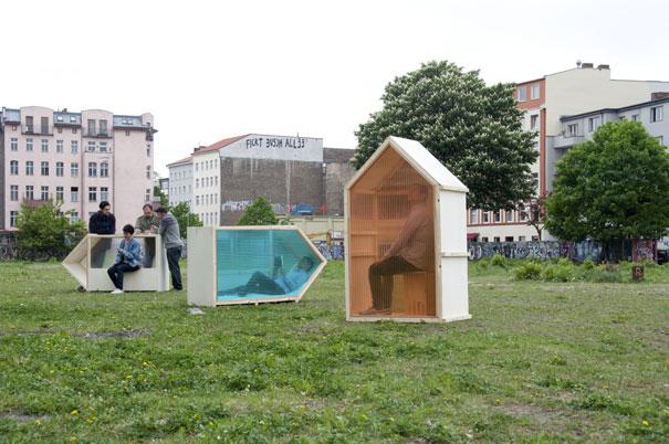 Rumah 1 Meter Persegi Paling Kecil di Dunia, Jerman