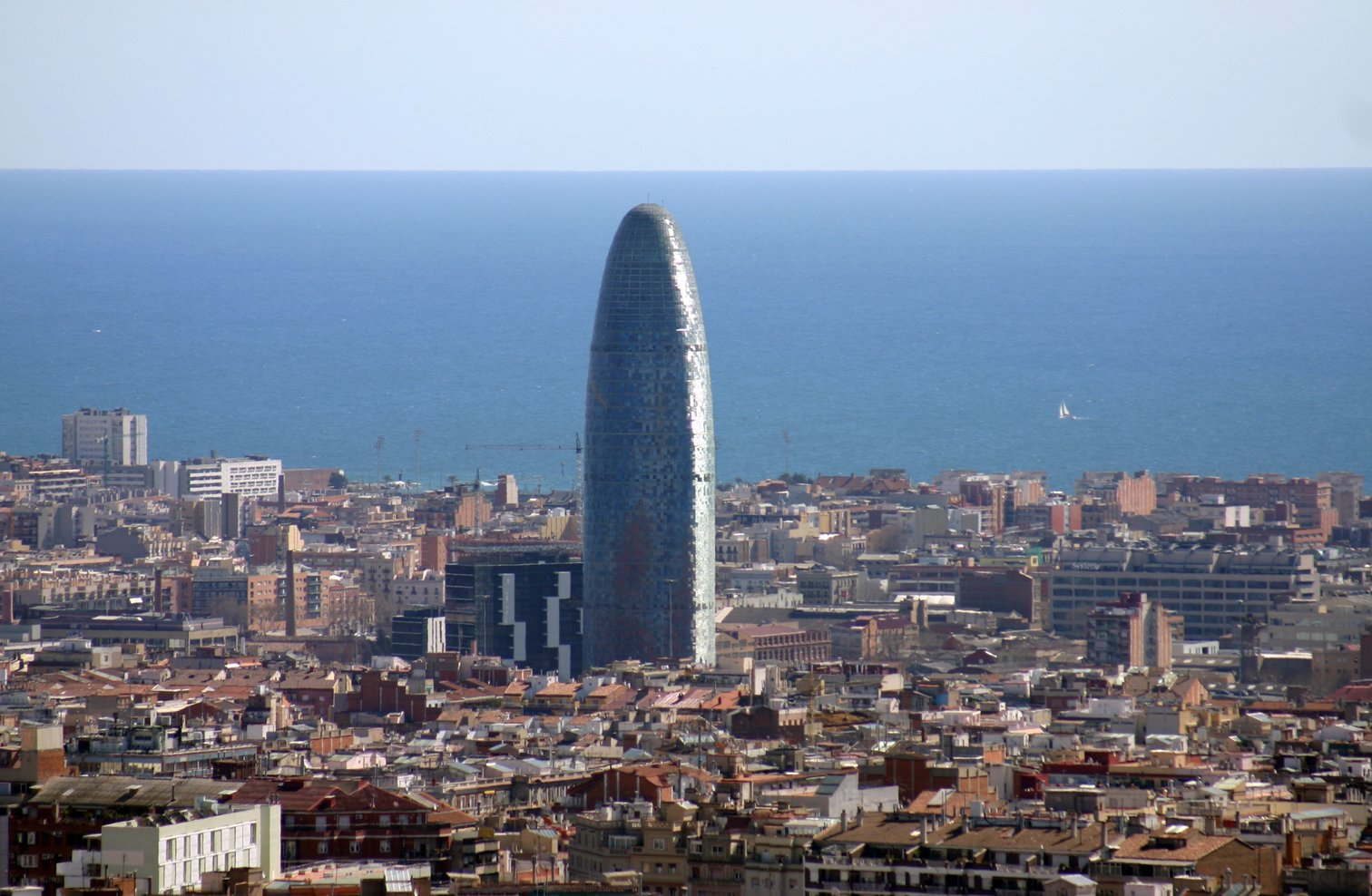 Agbar Tower, Barcelona, Spanyol
