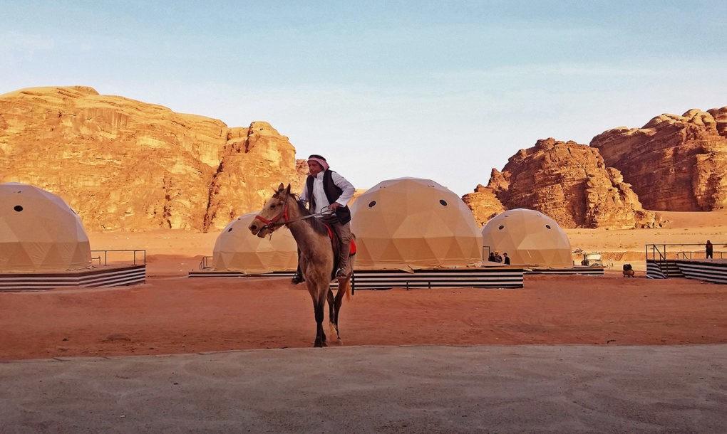 Inilah Penginapan Dengan Sensasi Tinggal di Mars