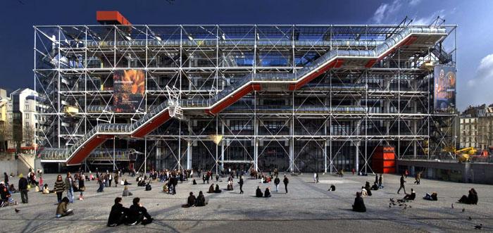 Pompidou Center, Paris, Prancis