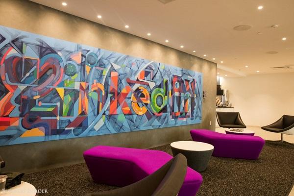 Begini Penampakan Kantor LinkedIn di New York, KEREN!