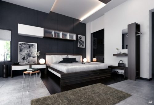 Warna Hitam Akan Kembali Ramaikan Dekorasi Ruangan Tahun 2018