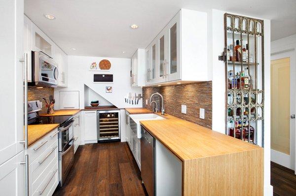 """Desain Dapur Dengan Pattern """"U"""" Membuat Masak Lebih Praktis"""