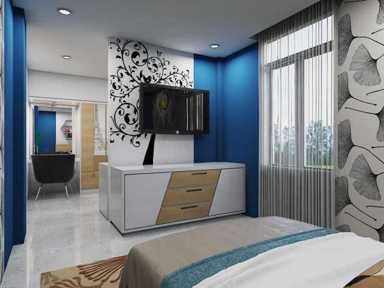Cat Rumah Dalam Ruangan Minimalis - Homes Decoration Ideas