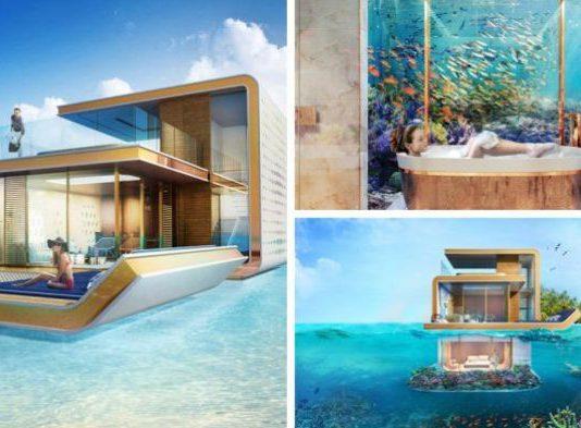 rumah bawah laut dubai