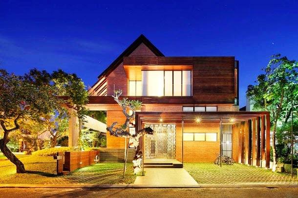 Membangun Rumah Dari Bahan Kayu Kenapa Tidak Portal