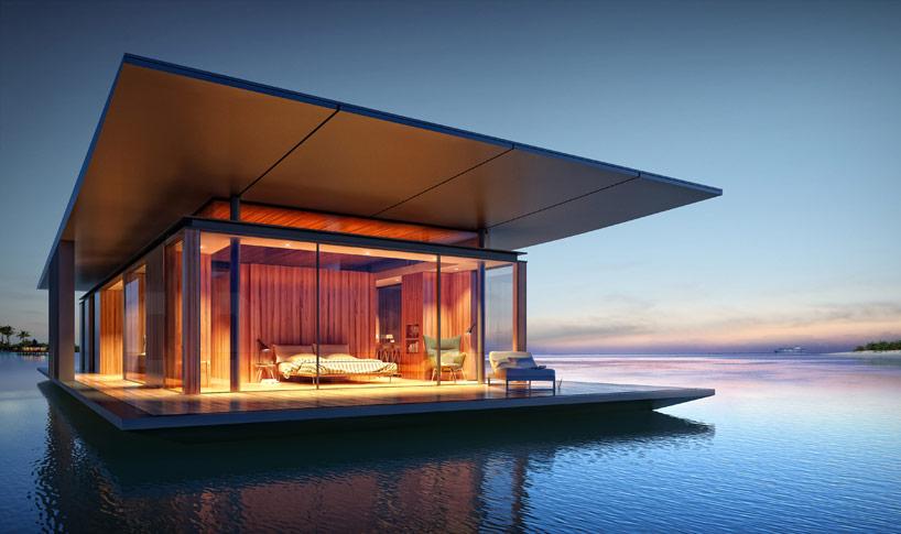 5 rumah apung bergaya modern