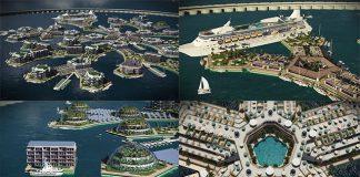 Kota Terapung Pertama Didunia Yang Diperkirakan Akan Terwujud Ditahun 2020