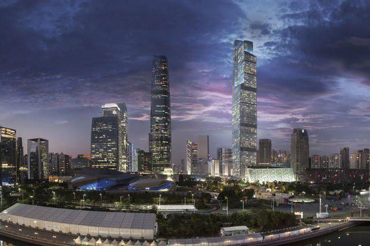 5 Gedung Pencakar Langit Dengan Lift Paling Cepat di Dunia