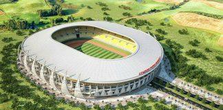 Keren! Inilah Stadion Dengan Desain Unik di Papua!