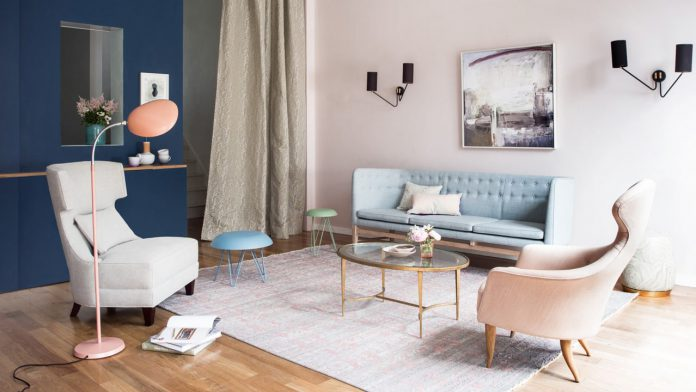 Tips Memadukan Warna Pastel Pada Interior Rumah