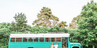Keren! Inilah Rumah Berjalan Dari Bus Tahanan Bekas