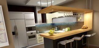 Inspirasi Desain Mini Bar di Dapur Rumah Sendiri