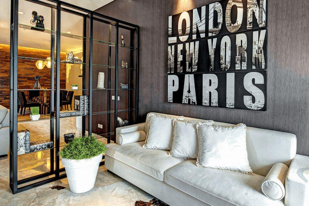 Inspirasi Desain Ruangan Dengan Sekat Yang Cantik dan Kreatif