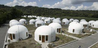 Dome House, Hunian Tahan Gempa Dengan Bentuk Unik