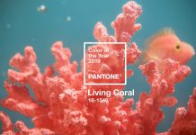 Tren Warna Tahun 2019, Living Coral!
