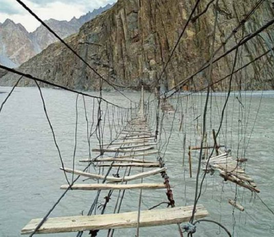 5 Jembatan Paling Mengerikan di Asia