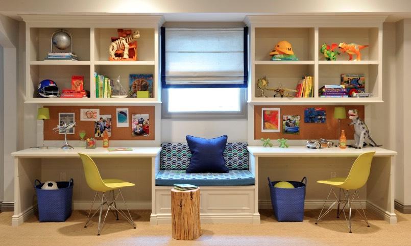 5 Inspirasi Desain Meja Belajar Agar Anak Makin Rajin dan Betah