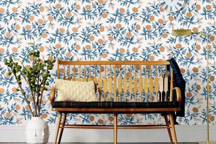 Inspirasi Wallpaper Motif Bunga Untuk Nuansa Feminim Pada Ruangan