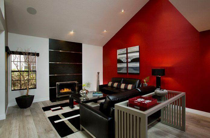 Tips Dekorasi Ruangan Dengan Warna Merah