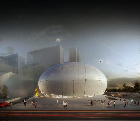 CANGGIH! Begini Wujud Museum Keren Yang Dibangun Oleh Robot