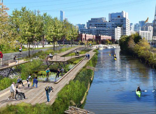 Wild Mile Chicago, Taman Terapung Yang Akan Dibangun di Chicago!