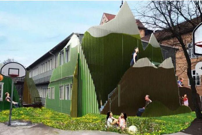 Fenomena Bangunan Sekolah Portabel di Swedia