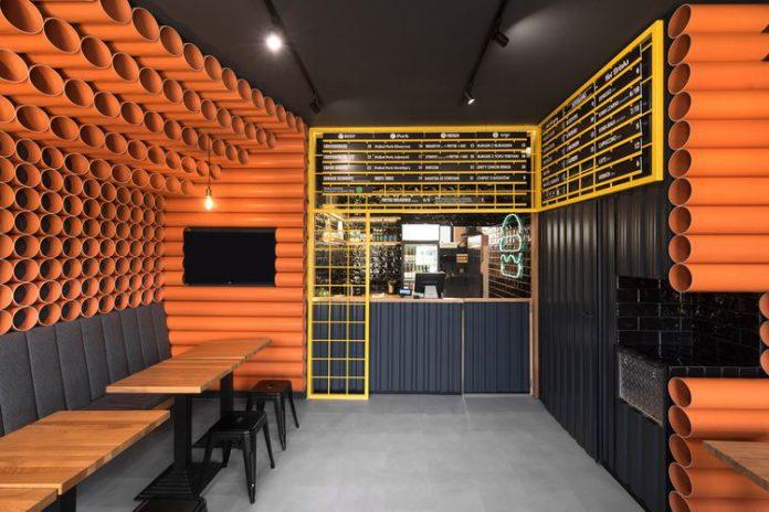 Inilah Dekorasi Interior Unik Dengan Pipa PVC Yang Keren Abis!