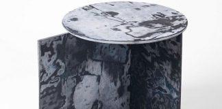 Unik dan Inovatif! Inilah Meja Dari Jeans Bekas