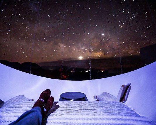 Menatap Indahnya Bintang di Hotel Bubble Satu Ini