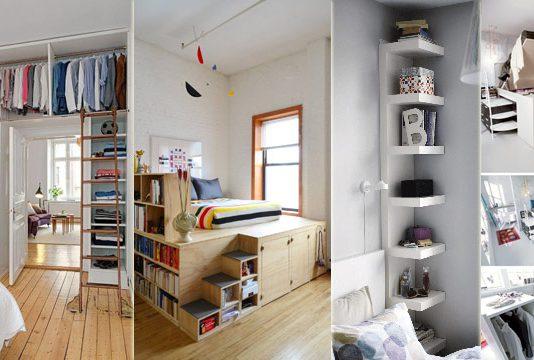 6 Ide Bedroom Makeover yang Keren untuk Kamar Sempit